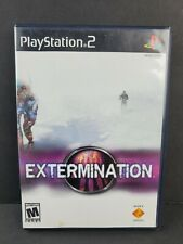 Extermination (PlayStation 2 PS2, 2001) Game Case TESTED
