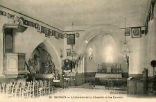 Carte BONSON L'intérieur de la Chapelle et les Ex Voto