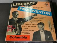 Record Album Liberace at the Piano Concertos for You w/Paul Weston...LP VG