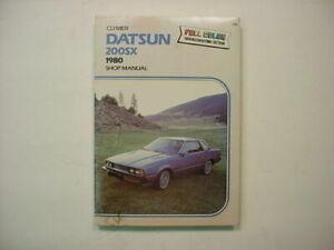 Shop Manual Fits Datsun 200SX NOS Clymers Brand   A206