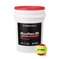 Yonex Muscle Power 20 Red Tennis Balls - Bucket of 60