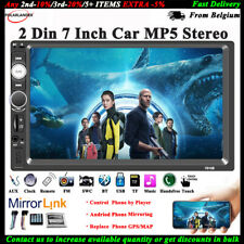 7'' 2 DIN Touch Screen Car Radio Stereo USB/TF/AUX/FM/Remote Audio Bluetooth MP5