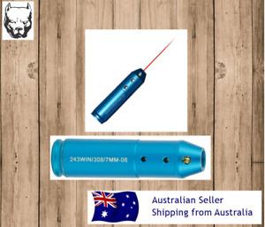 Laser Bore Sighter .308 .243 7mm/08 22-250 Cal Rifle Shooting Cartridge x1