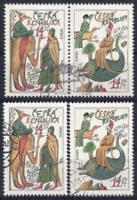 Tschechien 1994 - EUROPA, Nr. 36 - 37, gestempelt