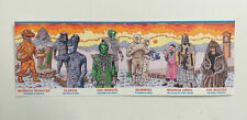 BBC Official DOCTOR WHO MAGAZINE Issue 550 WeetaBix Collector Cards x 6 (2020)