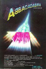 "Elaine Paige ""ABBACADABRA"" Jenna Russell (Debut) ABBA 1983 London Opening Flyer"