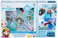 Official Disney Frozen Pop Up Game & Puzzle Set Home/Travel *NEW*