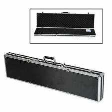 HomCom Aluminum Locking Padded Hard Gun Case Rifle Security Scattergun Storage
