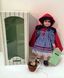 Seymour Mann Doll Storybook Tiny Tots Red Riding Hood Limited Edition Dolls