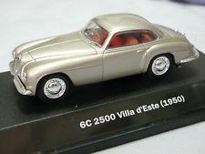 1/43 Alfa Romeo 6C 2500 Villa d'Este (1950) diecast