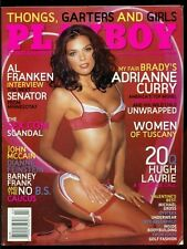 Playboy Magazine, February, 2006, Adrianne Curry, Women of Tuscany, Sex.com!