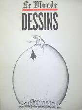 LE MONDE DIMANCHE DESSINS 1979 1983 LETORT VIAL JY MORGAN