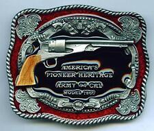 Boucle de Ceinture Buckle COLT ARMY revolver western cowboy usa farwest