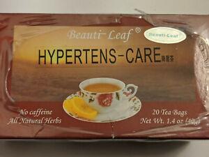 Beauti-Leaf Hypertens-Care Herbal Tea 20 Tea Bags 2 Boxes