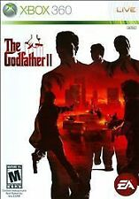 The Godfather II (Microsoft Xbox 360, 2009) BRAND NEW & FACTORY SEALED FREE SHIP