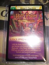 HARRY POTTER TRADING CARD GAME TCG SNAPE'S QUESTION PROMO GAMEBOY ADVANCE SEALED