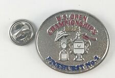 US OPEN GOLF CHAMPIONSHIP PINEHURST PUTTERBOY Lapel Hat Cap PIN 2014 Dual
