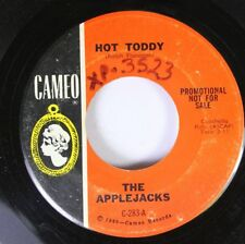 Rock Instrumental Promo 45 The Applejacks - Hot Toddy / Dance Of The Hours On Ca