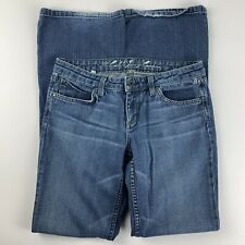Juicy Couture Womens 29 Jeans Mid Rise Tall Long Bootcut