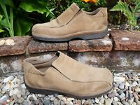 Gass Slip On Loafers Shoes Tan Brown Suede size 9 ref3P12 men comfort