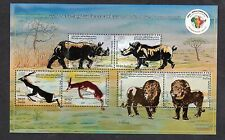 India 2014 MNH Miniatures EMBOSSED Stamps 3rd India-Africa Forum Summit