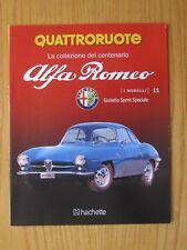 Fascicolo / Booklet  ALFA ROMEO (IL CENTENARIO) 1/24 Giulietta Sprint Speciale