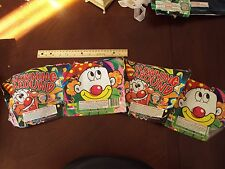Clowning Around Fireworks Cake Label ~ Original ~ Great Art Collectible Brothers