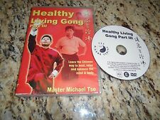 Healthy Living Gong Part III 3 w/ Master Michael Tse DVD-R DVD Heal Relax Balanc