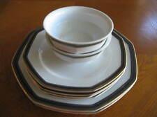 "8 Pieces Dinnerware by Christopher Stuart ""Black Dress"" Y0009"