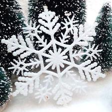 Copos De Nieve Decoración de Navidad árbol de Navidad Ornamentos Colgantes