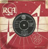 Elvis Presley - She's Not You original 1962 7 inch vinyl single