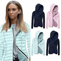 Fashion Women Winter Warm Hooded Coat Jacket Trench Windbreaker Parka Outwear