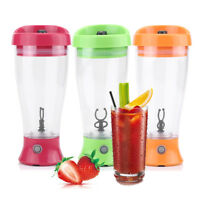 Portable Electric Mini Blender Fruit Juicer Coffee Milk Mixer Maker Machine JS