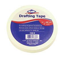 "Alvin® #2300-B Drafting Tape 3/4"" x 60yds, 3"" Core"