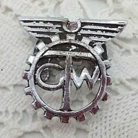 VINTAGE General Transport Workers TGW Trade Union Button Cover Uniform
