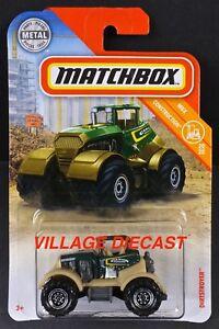 2019 Matchbox #35 Dirtstroyer™ GREEN / CANON CONSTRUCTION / MOC