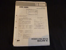 Original Service Manual Sony TA-808M