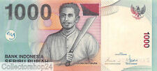 Indonesia 1000 Rupiah 2000/2003 Unc Pn 141d