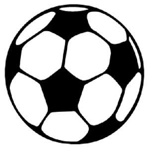 Football vinyl stickers/ Decal stickers/ Bumper Wallart Footie/Sport room decor
