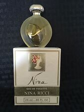 Nina Eau de Toilette 25 ml / .85 oz Splash from Nina Ricci