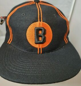 NWT Baltimore Black Sox Negro League Baseball museum fitted cap size 7 1/8