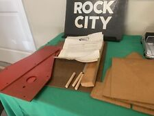 Authentic Rock City Build A Bird House Kit-NOS wood ...it's The Real Deal