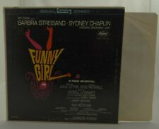 FUNNY GIRL (Original Cast, Streisand)~Capitol Gatefold LP 1972 STAO-2059 VG+/VG