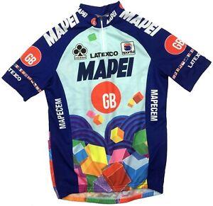 Vintage Mapei Colnago Sportful Cycling Bike Shirt Jersey Men's Medium M
