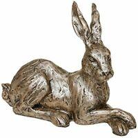 Champagne Bronze Hare Lying