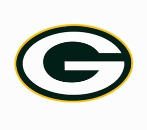 Green Bay Packers NFL Football Color Logo Sports Decal Sticker - Free Shipping
