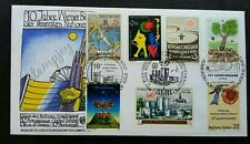 United Nation 10th Anniversary 1989 Tree Industry (FDC) *clean *3 cancellations