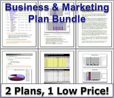 How To Start Up - E-COMMERCE SELLING WEBSITE - Business & Marketing Plan Bundle
