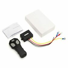 12V Winch Wireless Remote Control Winch+Receiver Kit Switch 100FT DC12V for S2A6