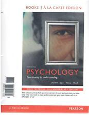 Psychology : From Inquiry to Understanding, Books a la Carte Edition by Scott O.
